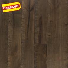 Clearance! Hard Gray Maple Techtanium Locking Engineered Hardwood