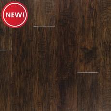 New! Dark Brown Hickory Techtanium Locking Engineered Hardwood