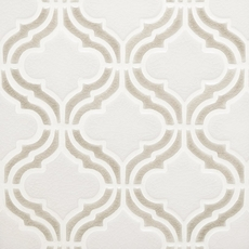 Clay Frame Arabesque Porcelain Mosaic