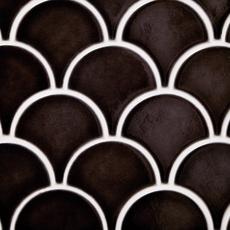 Atlantic Fan Polished Porcelain Mosaic