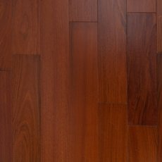 Brazilian Cherry Techtanium Smooth Finish Locking Engineered Hardwood