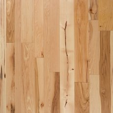 Natural Hickory Distressed Solid Hardwood