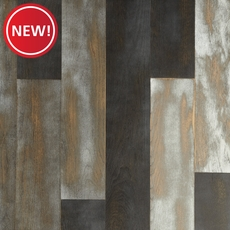 New! Azur Oak Wire Brushed Water-Resistant Engineered Hardwood