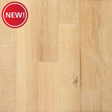 New! Ceruse Blonde Oak Wire Brushed Water-Resistant Engineered Hardwood