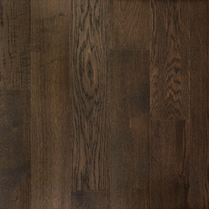 Brushed Gray Oak Wire Brushed Water-Resistant Engineered Hardwood