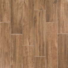 Burton Oak Wood Plank Porcelain Tile