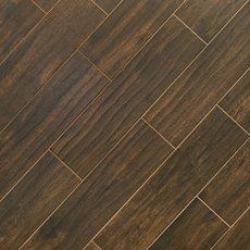 Burton Walnut Wood Plank Porcelain Tile
