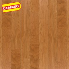 Clearance! Gunstock Oak Smooth Water-Resistant Engineered Hardwood