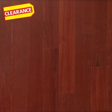 Clearance! Brazilian Cherry Smooth Water-Resistant Engineered Hardwood