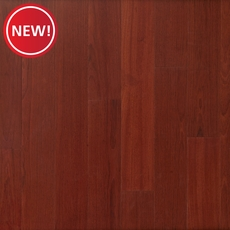 New! Brazilian Cherry Smooth Water-Resistant Engineered Hardwood