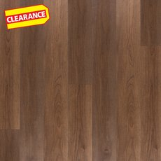 Clearance! Rich Brown Hickory Water-Resistant Engineered Hardwood
