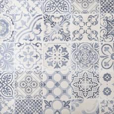 Skyros Decorative Blanco Porcelain Tile