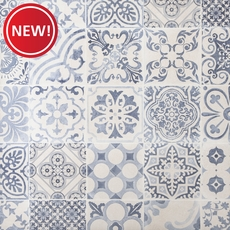 New! Skyros Decorative Blanco Porcelain Tile