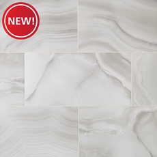 New! Onyx Gray Ceramic Tile