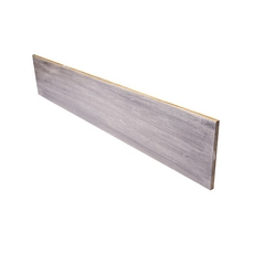 Color 36500TW Stranded Carbonized Bamboo Stair Riser - 42 in.
