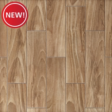 New! Dayton Oak Wood Plank Ceramic Tile