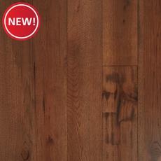 New! Hickory Dark Distressed Engineered Hardwood