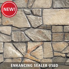 New! Blue Ridge Random Limestone Panel Ledger