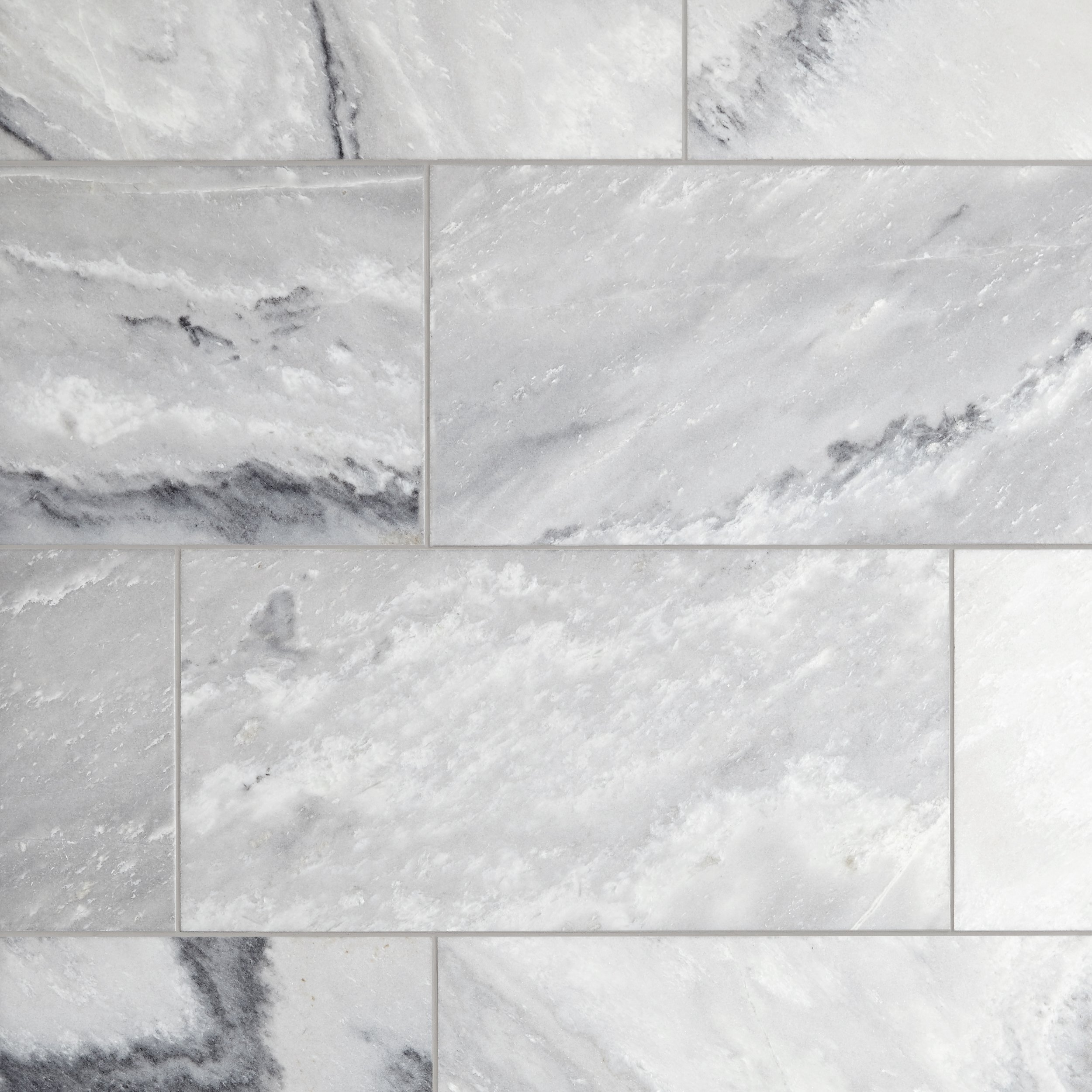 valentino white brushed marble tile