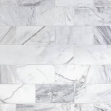 Ocean White Polished Marble Tile