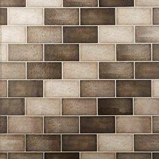 Quayside Brown Polished Ceramic Tile