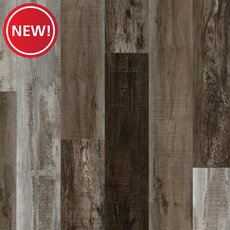 New! Ombre Taupe Hand Scraped Plank with Cork Back
