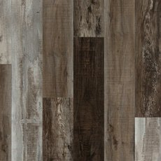 Ombre Taupe Rigid Core Luxury Vinyl Plank - Cork Back