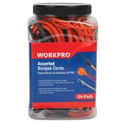 Work Pro Assorted Bungee Cords - 24pk.