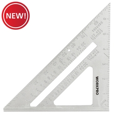 New! Work Pro 7in. Aluminum Square Layout Tool