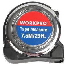 Work Pro 25ft. Chrome Plated Tape Measure