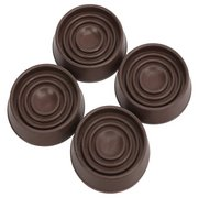 Work Pro 1-3/4in. Small Round Furniture Caps - 4pk.