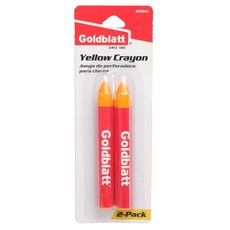 Goldblatt Yellow Marking Crayon - 2pk.