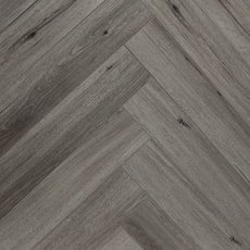 Twilight Ash Rigid Core Vinyl Herringbone - Foam Back