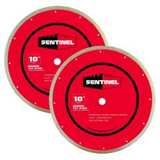 Sentinel 10in. Tile Blade 2-pack