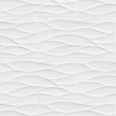 Idole Tear White Ceramic Tile