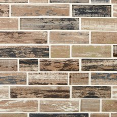 Hemlock Grove Linear Glass Mosaic