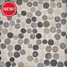 New! Corsica Blend Pebble Mosaic