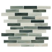Garden Grove Linear Glass Mosaic
