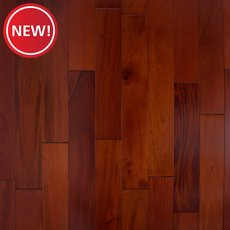 New! Mahogany Cherry Smooth Solid Hardwood