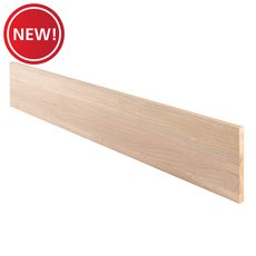 New! Red Oak Unfinished Stair Riser - 48 in.
