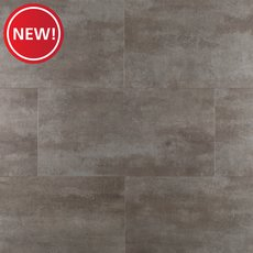 New! Gilded Concrete Rigid Core Luxury Vinyl Tile - Cork Back