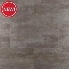 New! Gilded Concrete Rigid Core Luxury Vinyl Tile - Cork Back