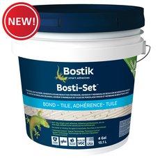 New! Bostik Bosti-Set Tile Adhesive and Sound Reduction Membrane