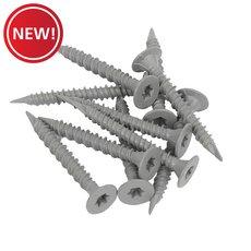 New! Goldblatt 1-5/8 in. Cement Screws - 150 ct.