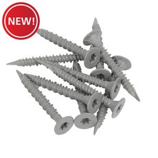 New! Goldblatt 1-5/8 in. Cement Screws - 150 ct.