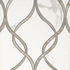 Agatha Polished Porcelain Mosaic