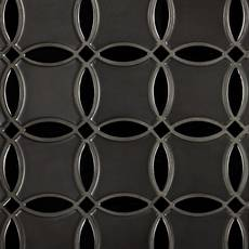 Iron Circulo Porcelain Mosaic