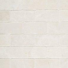 Botticino 2 x 4 in. Brick Marble Mosaic