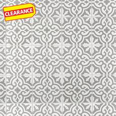 Clearance! Equilibrio Gray Encaustic Cement Tile
