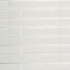 Silhouette Cotton Polished Ceramic Tile